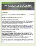 Wholesale Bulletin 20W-027 Appraisal Delays Due to COVID-19