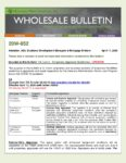 Wholesale Bulletin 20W-052 VA Loans - Temporary Appraisal Guidelines Related to COVID-19