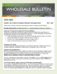 Wholesale Bulletin 20W-066 Freddie Mac 2020-14 – Updated Guidance Related to COVID-19