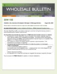 Wholesale Bulletin 20W-105 August 2020 California Wildfires