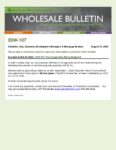 Wholesale Bulletin 20W-107 2019 W-2 Transcripts Now Being Required