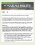Wholesale Bulletin 20W-116 Updated Fannie Mae and Freddie Mac COVID-19 Requirements for Self Employed Borrowers
