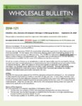 Wholesale Bulletin 20W-121 REVISED VA Loans Forbearance Guidance