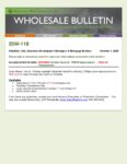 Wholesale Bulletin 20W-118 REVISED October Special - FHA VA Pricing Improvement