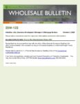 Wholesale Bulletin 20W-123 Fannie Mae Manufactured Home ADU