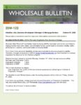 Wholesale Bulletin 20W-123 GSFA Platinum Origination Fee Structure Change