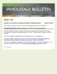 Wholesale Bulletin 20W-125 REVISED Extension of COVID-19 Temporary Requirements