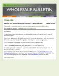 Wholesale Bulletin 20W-128 CalHFA Debt to Income Increase