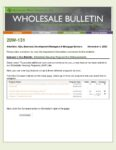 Wholesale Bulletin 20W-131 Affordable Housing Program Site Enhancements
