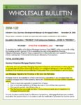 Wholesale Bulletin 20W-132 REVISED FHA Forbearance Guidance COVID-19