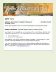 Wholesale Bulletin 20W-134 December Special - Reduced Underwriting Fee