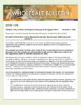 Wholesale Bulletin 20W-136 Fannie Freddie New Guidance Self Employment COVID-19 December 2020
