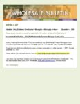Wholesale Bulletin 20W-137 FHA 2021 Loan Limits
