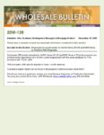 Wholesale Bulletin 20W-139 US Bank HFA Overlay Update