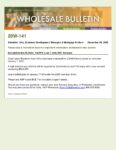 Wholesale Bulletin 20W-141 CalHFA 2021 Loan Limits