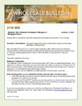 Wholesale Bulletin 21W-006 Hazard and Flood Insurance Premium-Refinance Transactions