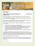 Wholesale Bulletin 21W-007 FHA Permitting DACA Status Recipients