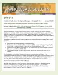 Wholesale Bulletin 21W-011 GSFA Platinum and AzIDA Home+PLUS Permit DACA Status for FHA Financing