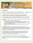Wholesale Bulletin 21W-013 GSFA Open Doors and UHC Accepting DACA Status Applicants