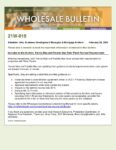Wholesale Bulletin 21W-015 Fannie Freddie Revised Solar Panel Guidance