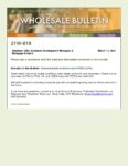 Wholesale Bulletin 21W-019 Improvements in Government FICO LLPAs