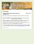 Wholesale Bulletin 21W-020 Elimination of Manual Underwrites on Second Homes and Investment Property