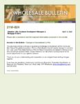 Wholesale Bulletin 21W-024 Changes to Conventional LLPAs