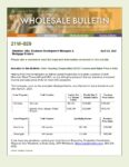 Wholesale Bulletin 21W-029 UHC Sales and Income Price Limits