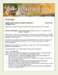 Wholesale Bulletin 21W-030 Freddie Mac Extension of COVID 19 Guides May 2021