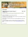 Wholesale Bulletin 21W-034 Improved Government FICOs