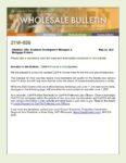 Wholesale Bulletin 21W-036 CalHFA Income Limits Update