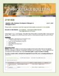 Wholesale Bulletin 21W-038 June Special - Extension of Free Appraisals on VA Loans