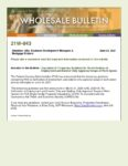 Wholesale Bulletin 21W-043 FHA Expiration of Re-Verif of Employment and Exterior Only Appraisals