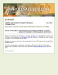 Wholesale Bulletin 21W-047 FHA Extension of the End Date for COVID-19 - Temporary Guidance for Verification of Self Employment Rental Income