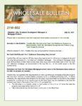Wholesale Bulletin 21W-052 Freddie Mac Bulletin 2021-16