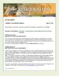 Wholesale Bulletin 21W-054 Freddie Mac and Fannie Mae Open End Accounts (30 day) 2021