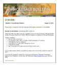 Wholesale Bulletin 21W-058 - Introducing MWF Jumbo L2