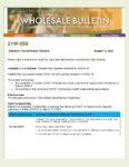 Wholesale Bulletin 21W-059 Freddie Mac Updates Related to COVID 19