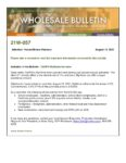 Wholesale Bulletin - CalHFA MyHome Assistance Increase